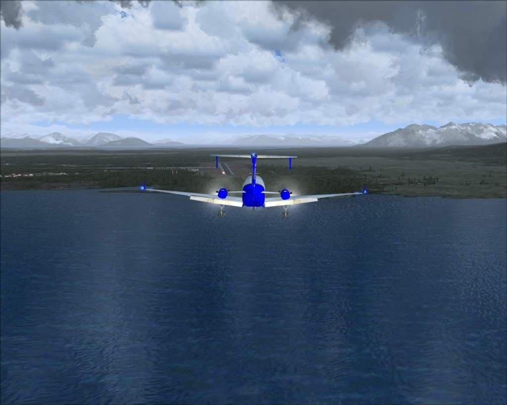 """""""Fs9"""" O voo até Gustavus....lindas paisagens  RICARDO-2010-nov-2-060"""
