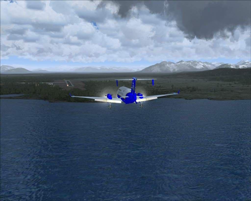 """""""Fs9"""" O voo até Gustavus....lindas paisagens  RICARDO-2010-nov-2-062"""