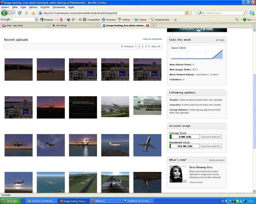 Aprenda a Postar Screens nos Foruns aqui do VooVirtual RICARDO-2011-jan-9-015
