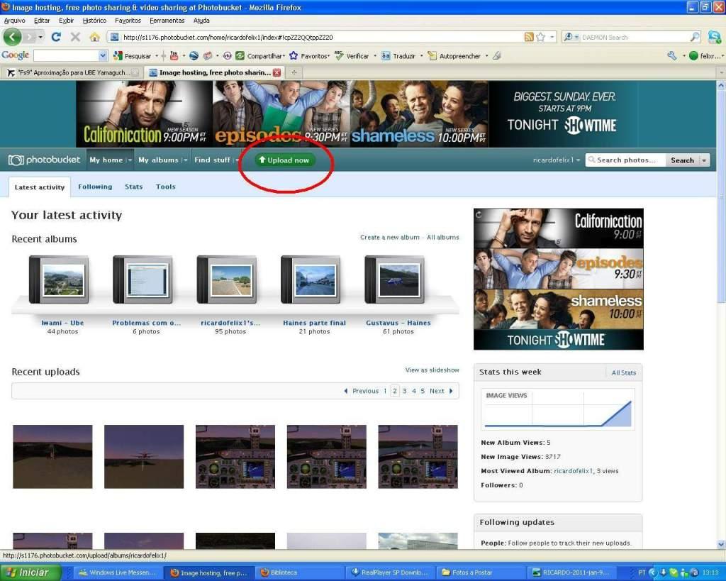 Aprenda a Postar Screens nos Foruns aqui do VooVirtual RICARDO-2011-jan-9-023