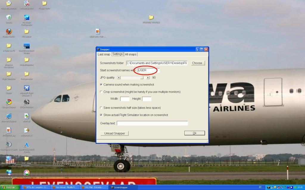 Snapper, como tirar informação em definitivo do settings USER-2011-feb-28-002-1