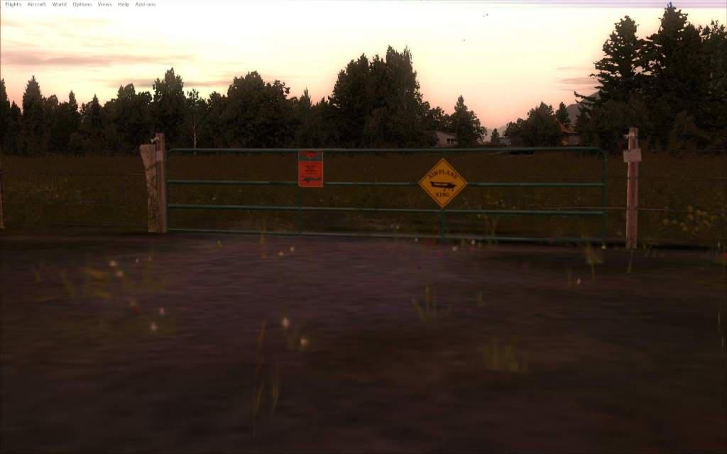 """FSX""Deixando Israel Farm... ja estou com saudade da Tia May -2012-may-19-007"