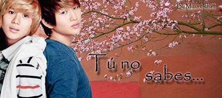 [Oneshot|OnTae] Tú no sabes...  Tuno