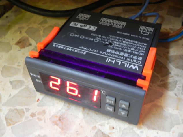 controlador de temperatura Controlador1