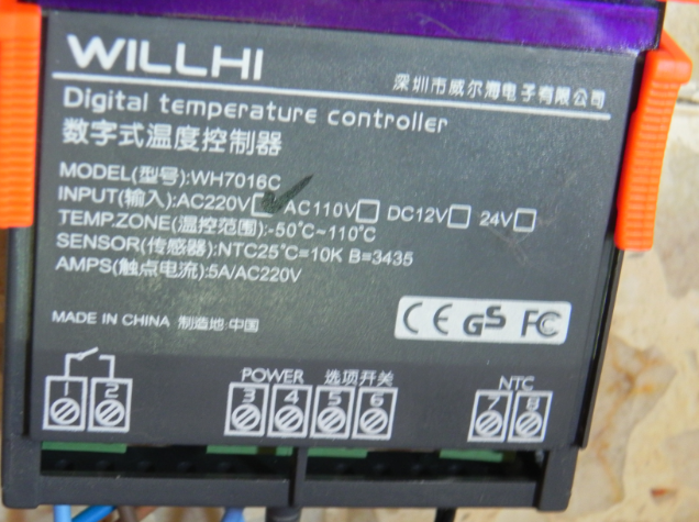 controlador de temperatura Controlador2