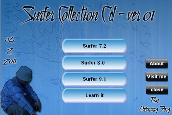 Golden Software :SURFER COLLECTION CD 04-02-201116-54-16