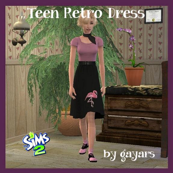 Affinity [May 2016] 2594-teen-retro-dress