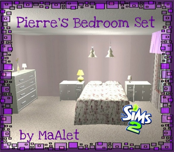 Affinity Sims [March - April] AletBedroom