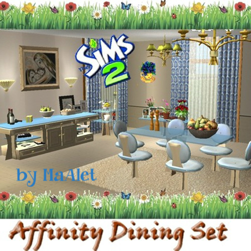 Affinity Sims [March-April 2015] 2302Affinity_Dining_Room_Set