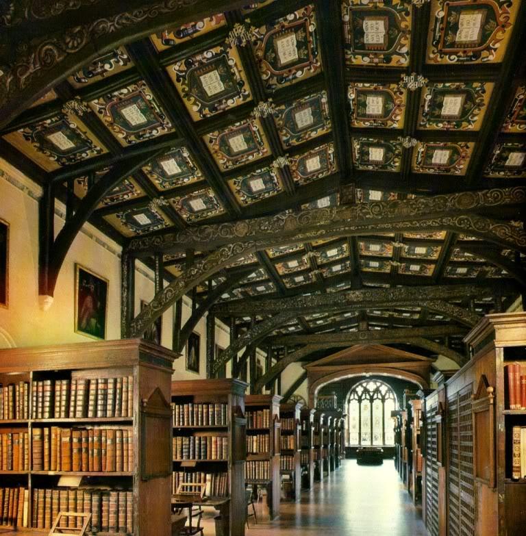 Самые красивые и известные высшие учебные заведения мира Bodleianlibrary
