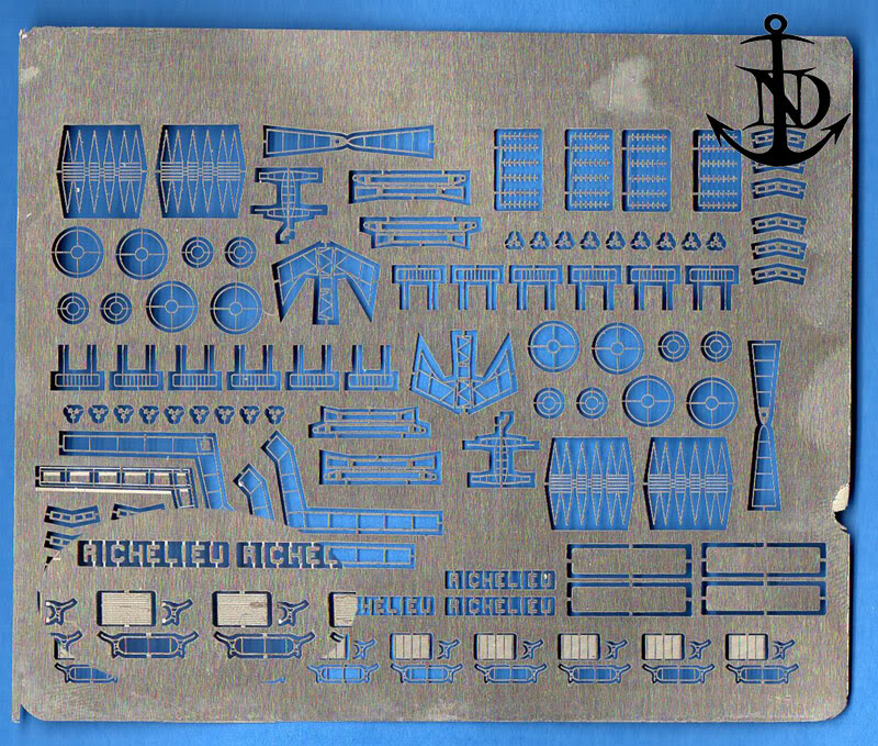 """Richelieu Trumpeter 1950-52  au 350em +kit de l'Arsenal """"pazapa"""" - Page 39 Ri434"""