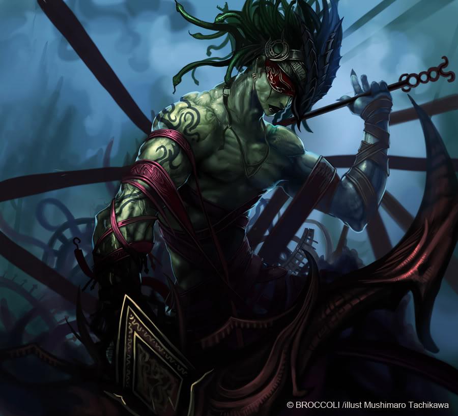 Crypticus Zero Vol I: The missing soul (CERRADO PORQ LOS Q JUGABAMOS ELEJIMOS OTRO ROL) Gorgon_by_masterbimo