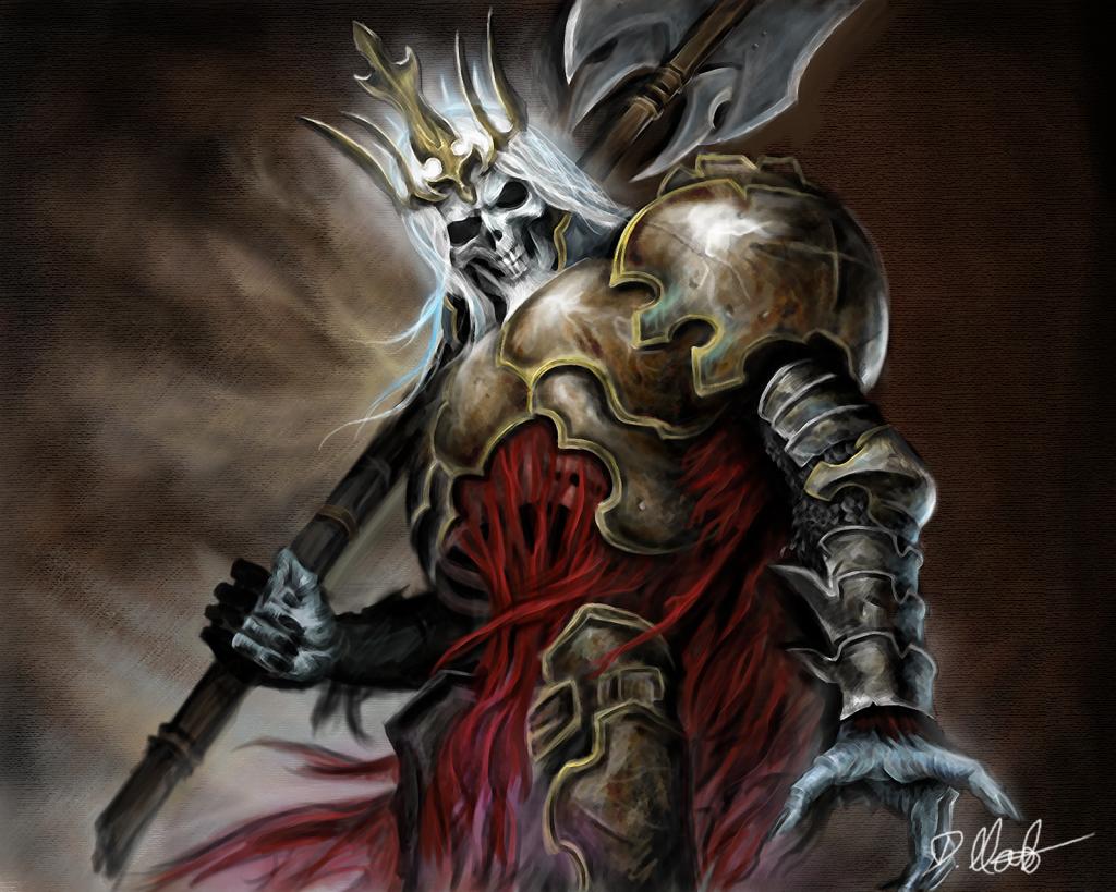 Crypticus Zero Vol I: The missing soul (CERRADO PORQ LOS Q JUGABAMOS ELEJIMOS OTRO ROL) - Página 5 Diablo_3_skeleton_king_by_dominikmasloart-d4z8nvx