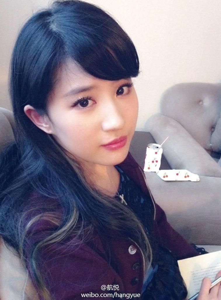รวมภาพถ่ายจาก Blog และ Sina weibo Hang Yue  4a6856e2jw1e4fmemc8cjj20sc12awlz