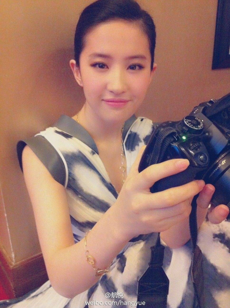 รวมภาพถ่ายจาก Blog และ Sina weibo Hang Yue  4a6856e2jw1dwwbio7tufj