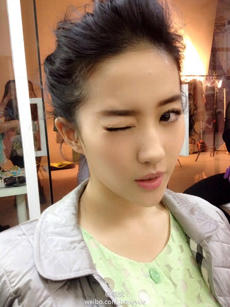 รวมภาพถ่ายจาก Blog และ Sina weibo Hang Yue  - Page 3 4a6856e2jw1ean3oocqsqj20xc18ggy4