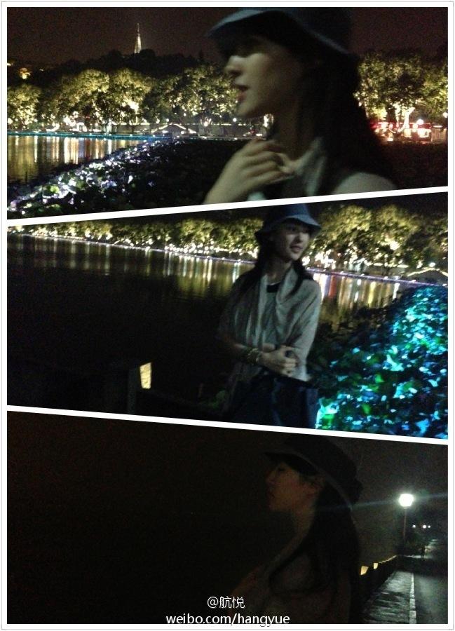 รวมภาพถ่ายจาก Blog และ Sina weibo Hang Yue  - Page 2 4a6856e2jw1e64ac632l9j20i10p00xg