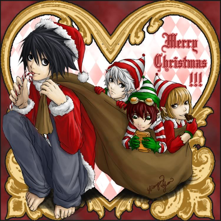 Merry Christmas Everyone! :D <3 DeathNoteXmas