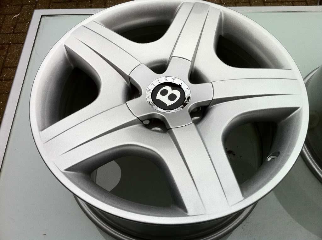 Bentley GTC rims only. 19x9j 5x112 powdercoated IMG_2362