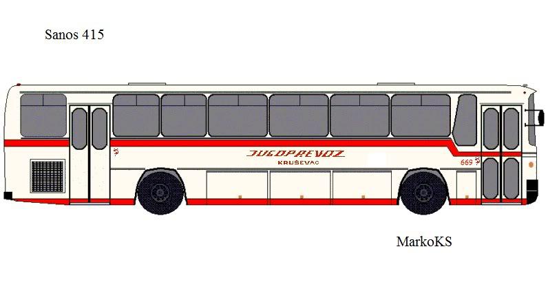 Crteži autobusa  TemsaSD-1