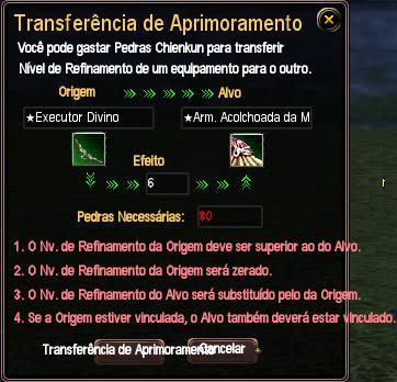 [Guia] Refino de Equipamentos Transferencia