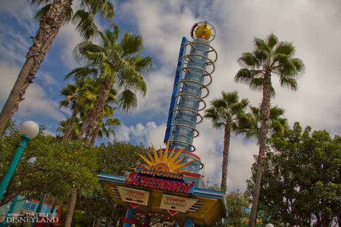 [Disney California Adventure] California Screamin' (2001) IMG_7315