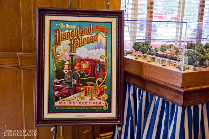 """[Disneyland]The Disney Gallery - Exposition """"All Aboard"""" IMG_8232"""