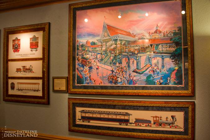 """[Disneyland]The Disney Gallery - Exposition """"All Aboard"""" IMG_8275"""