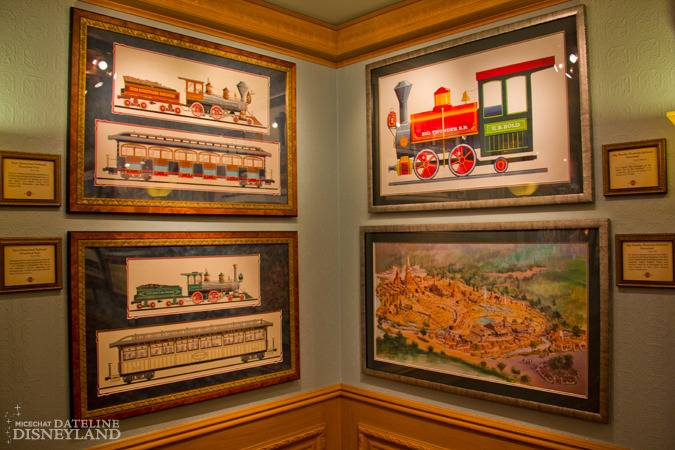 """[Disneyland]The Disney Gallery - Exposition """"All Aboard"""" IMG_8280"""