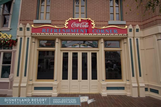 [Disneyland Park] Main Street, U.S.A.: remaniement des points de restauration (2012) et agrandissement (2015) IMG_3917