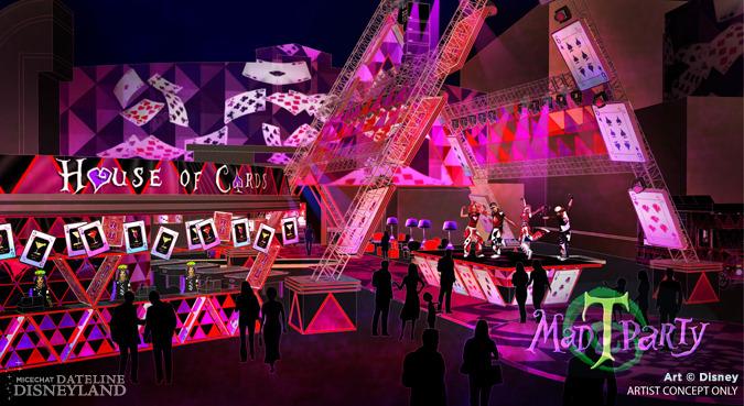 [Disney California Adventure] Mad T Party (officiellement à partir du 15 juin 2012 mais dès les 25 mai 2012) MTPHouseofCards-Disney