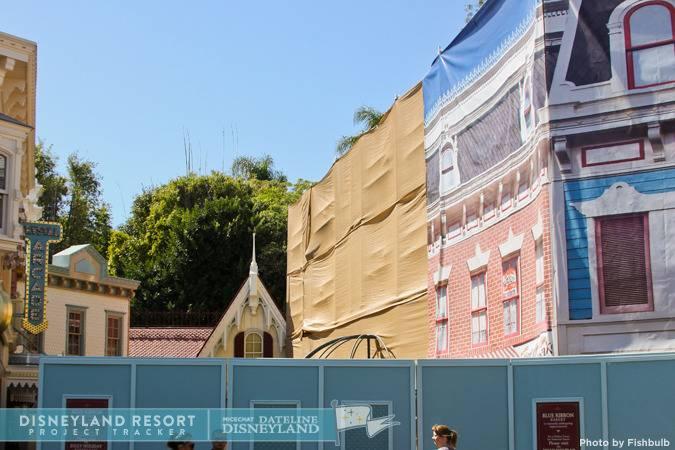 [Disneyland Park] Main Street, U.S.A.: remaniement des points de restauration (2012) et agrandissement (2015) IMG_0346