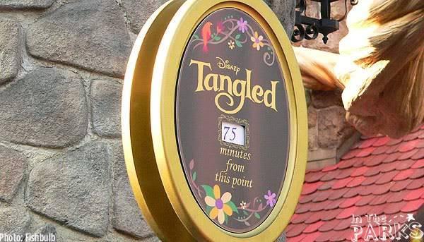 [Disneyland Park & Magic Kingdom] Meet & Greet Tangled P1130377