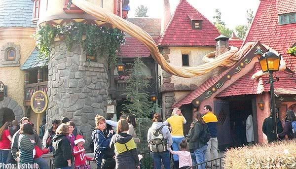 [Disneyland Park & Magic Kingdom] Meet & Greet Tangled P1130378