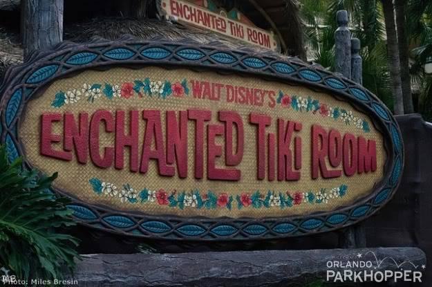 [Magic Kingdom] Walt Disney's Enchanted Tiki Room : réouverture imminente NewTikiRoomSign