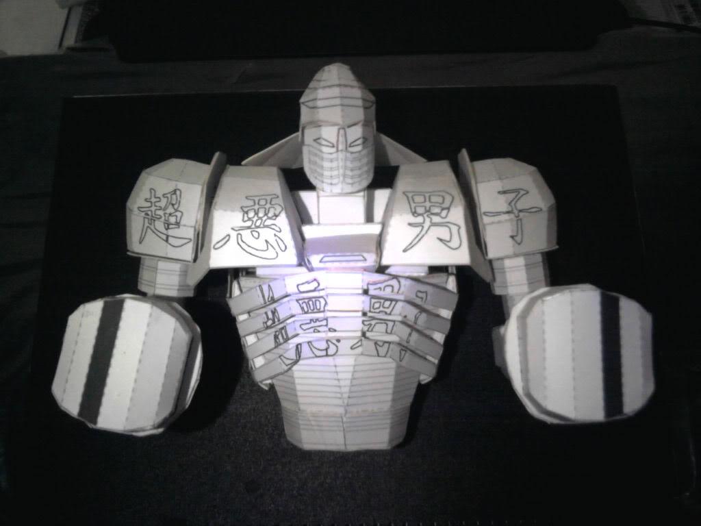 """robot de pelicula """"gigantes de acero"""" -Terminado- Ggg"""