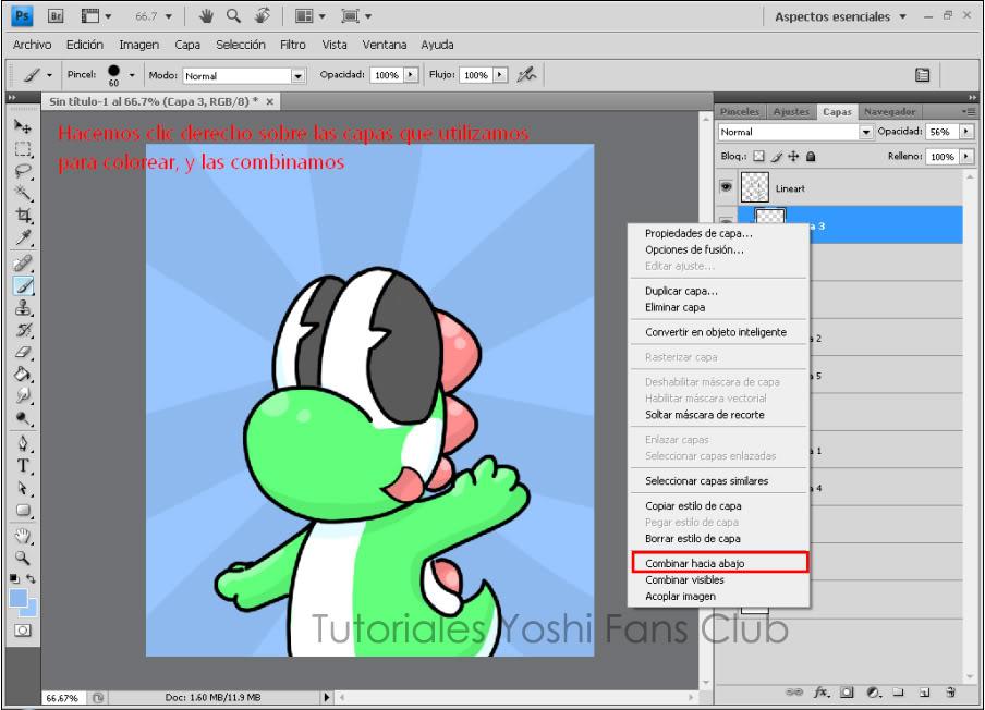 Tutorial: Dibujo Basico en Photoshop T12
