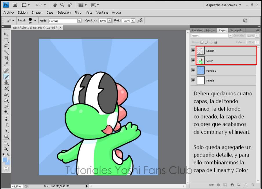 Tutorial: Dibujo Basico en Photoshop T13