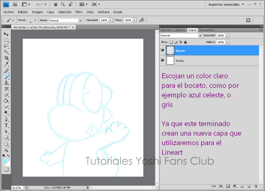 Tutorial: Dibujo Basico en Photoshop T2