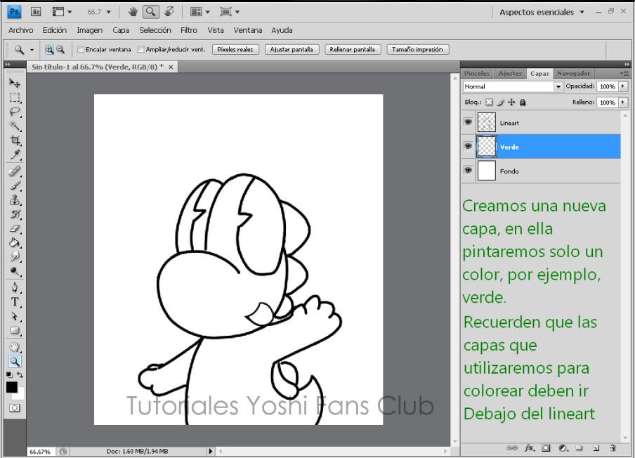Tutorial: Dibujo Basico en Photoshop T4