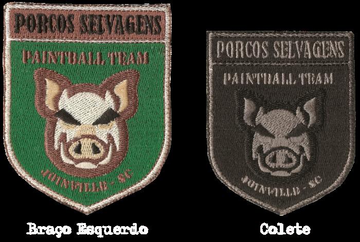 Porcos Selvagens Paintball Team Braoecolete1000-1
