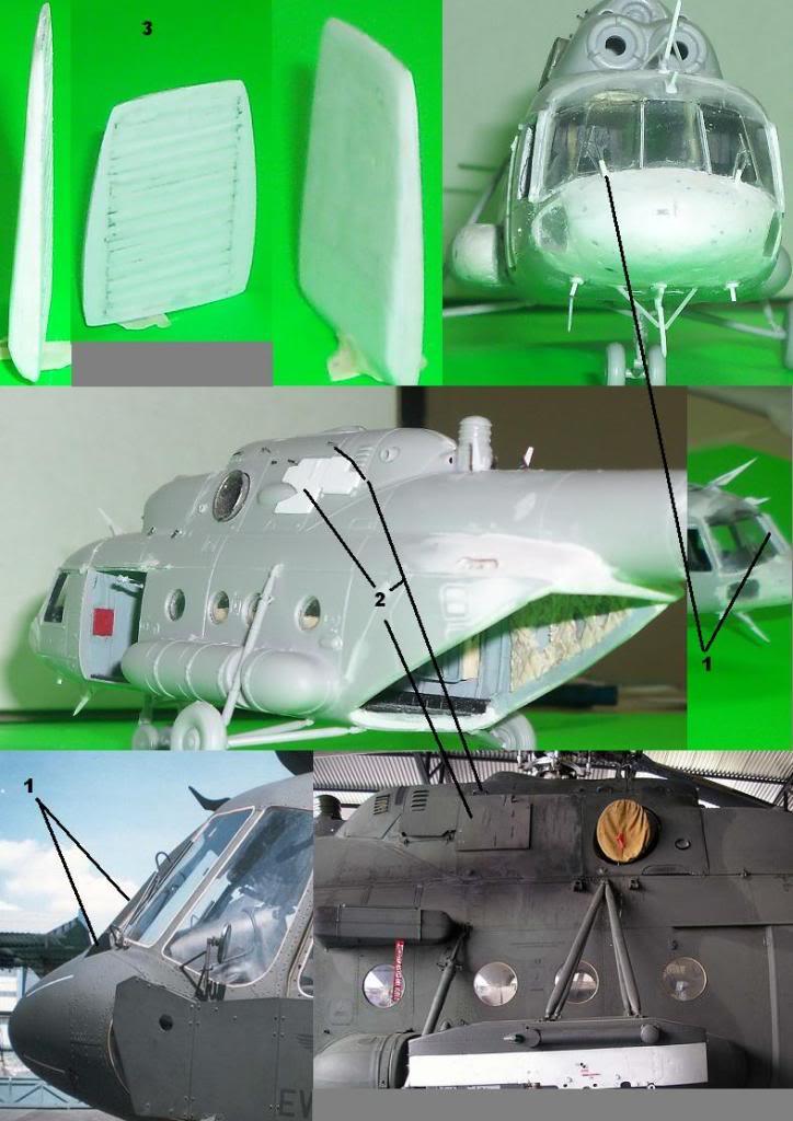 MI17V5 Venezolano/ Hobby boss MI8T 1/72 en proceso Avances7
