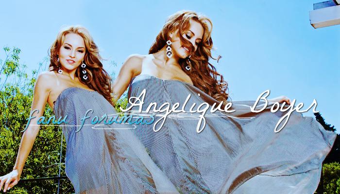 Angelique Boyer fanų forumas