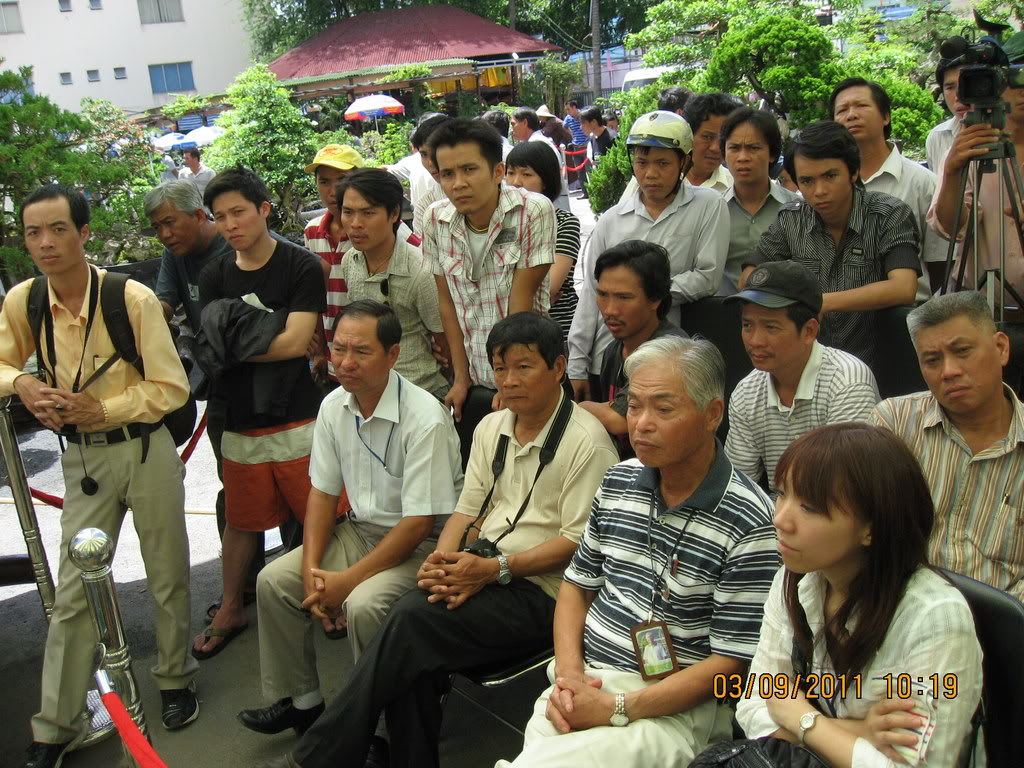 Lo Min Hsuan demonstration in HoChiMinh city MrKanishi