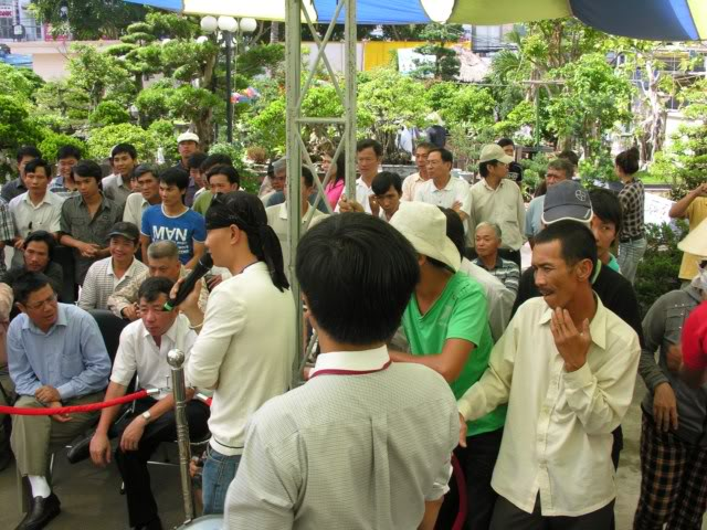 Lo Min Hsuan demonstration in HoChiMinh city VNT_LMH10