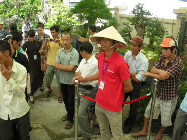 Lo Min Hsuan demonstration in HoChiMinh city VNT_LMH11