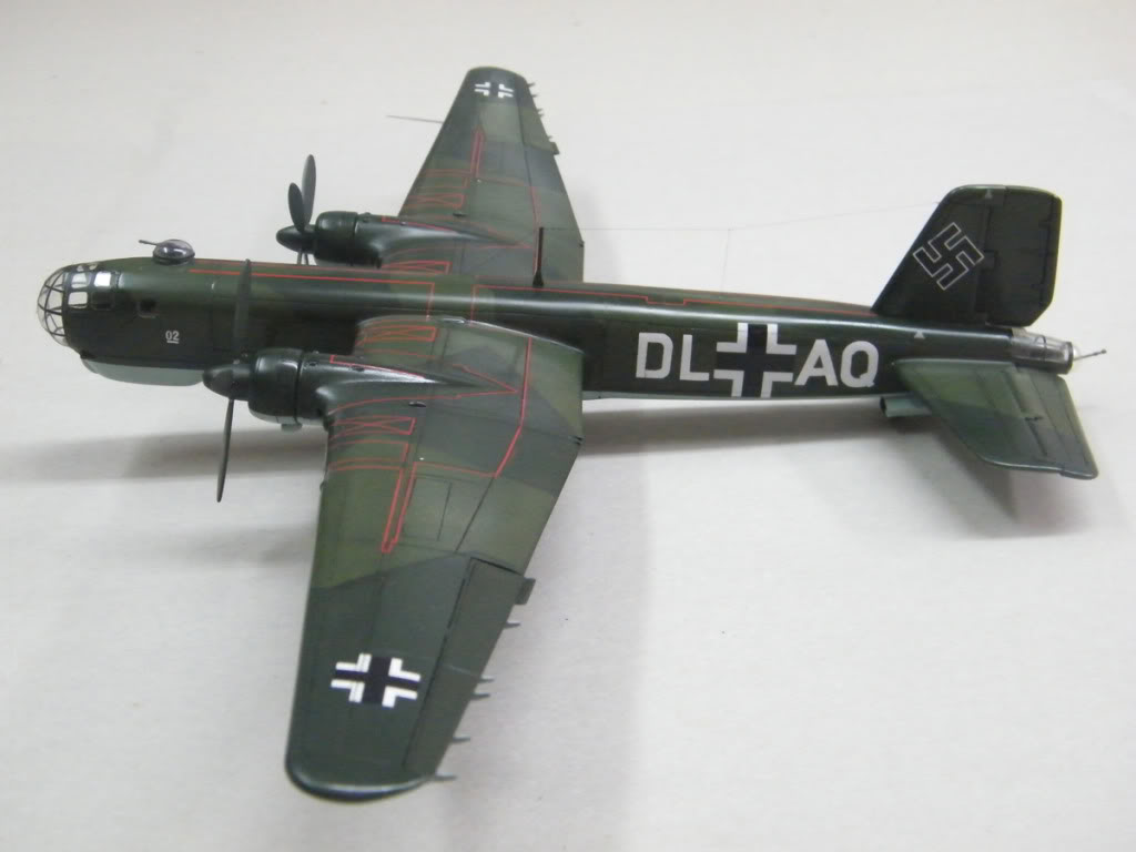 Heinkel He177 A-02 - Conversion from Venerable Airfix Kit F1