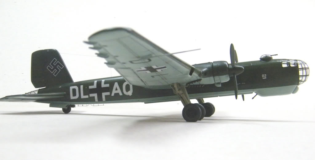 Heinkel He177 A-02 - Conversion from Venerable Airfix Kit F10