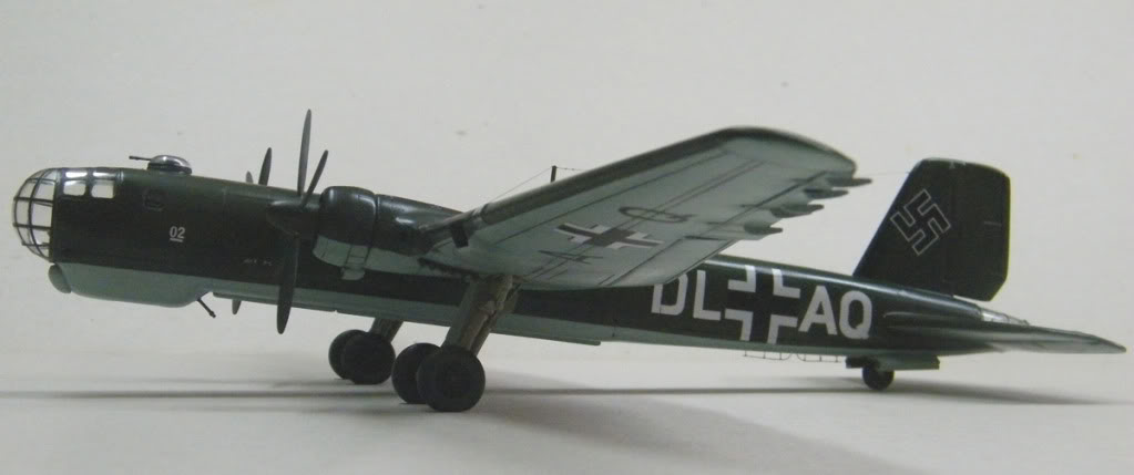 Heinkel He177 A-02 - Conversion from Venerable Airfix Kit F13