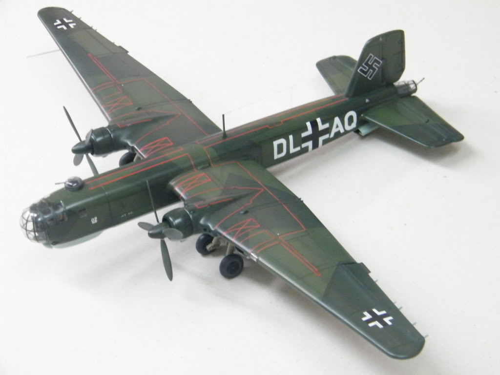 Heinkel He177 A-02 - Conversion from Venerable Airfix Kit F16